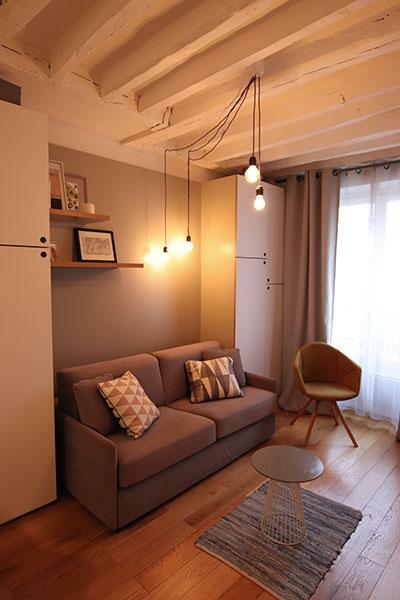 Aménagement Studio – Paris 11ème