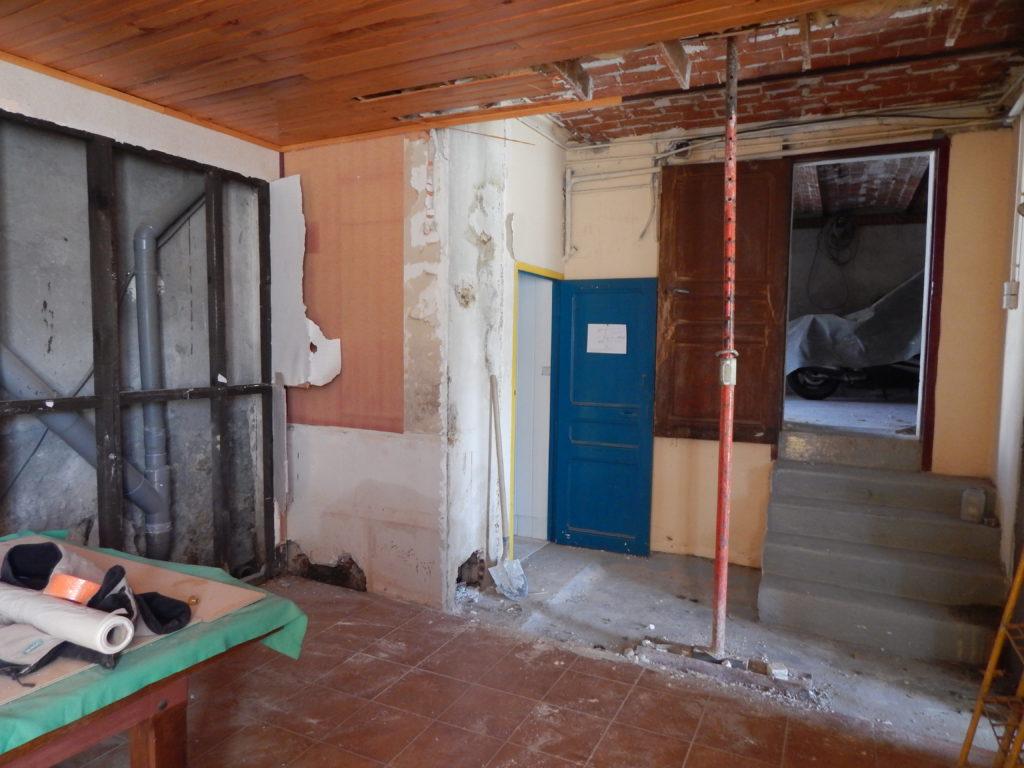 Sophie Pico - Maison de Ville Béziers chantier 1