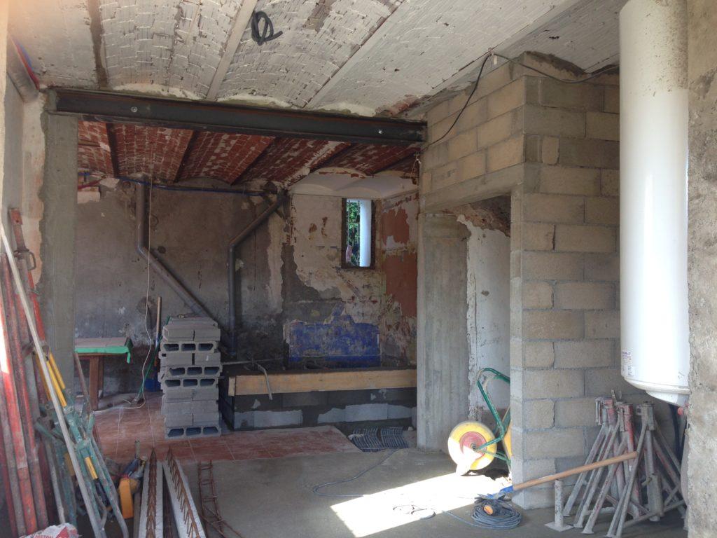 Sophie Pico - Maison de Ville Béziers chantier 11