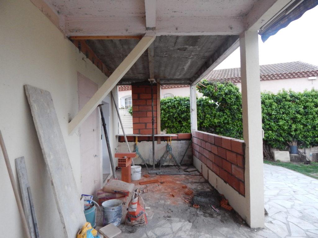 Sophie Pico - Maison de Ville Béziers chantier 5